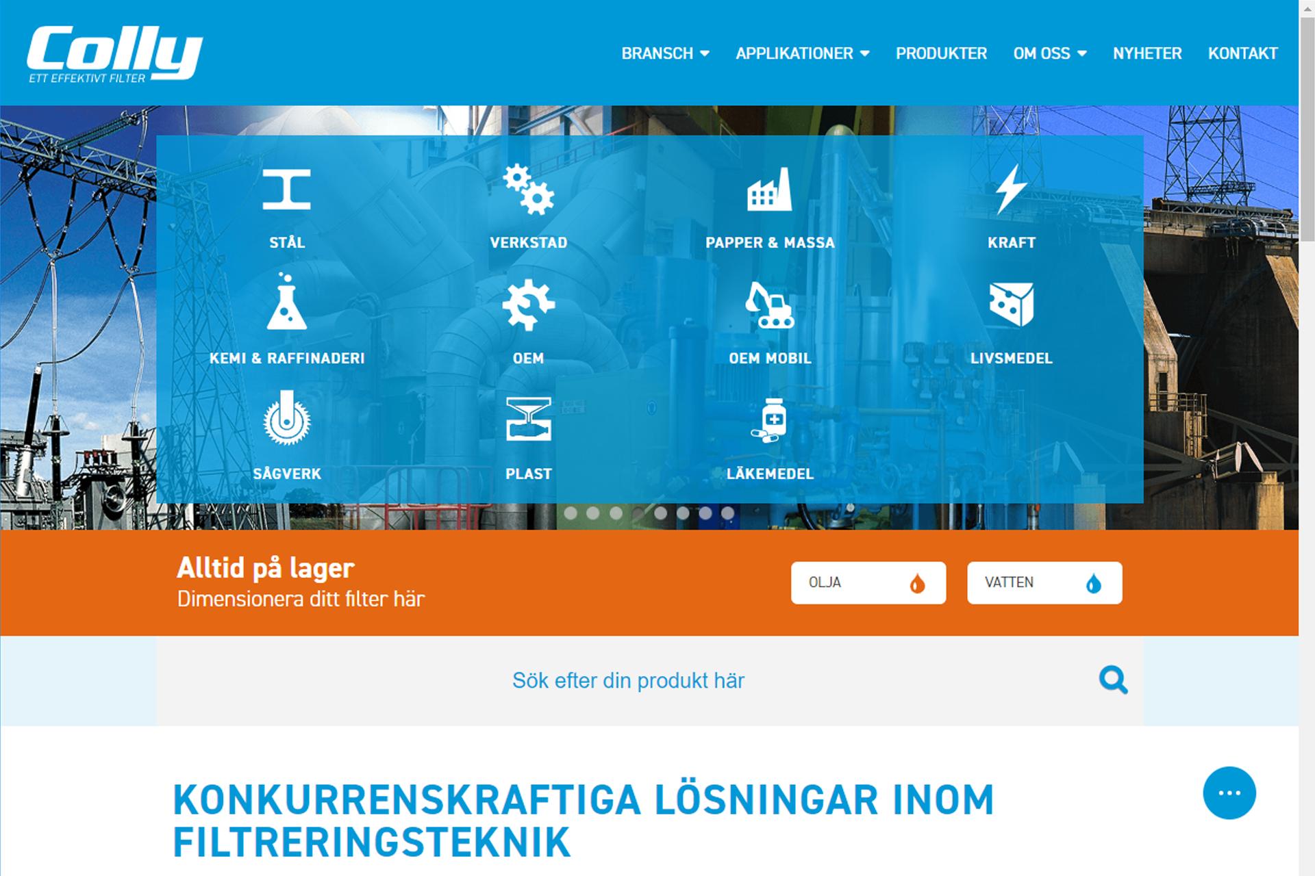 26d7f55f1d4 Vår nya hemsida – smarta funktioner som underlättar för dig som kund