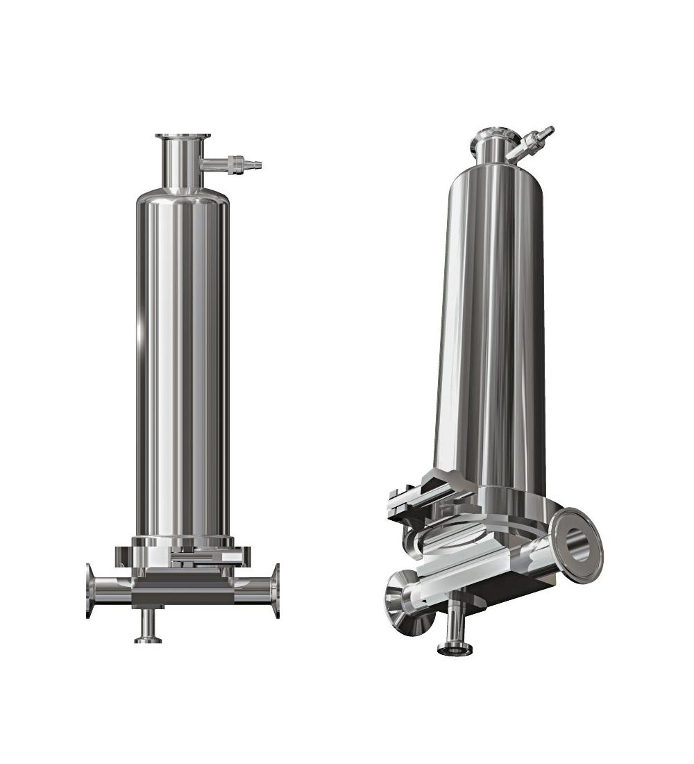 Compact T-type Filterhus