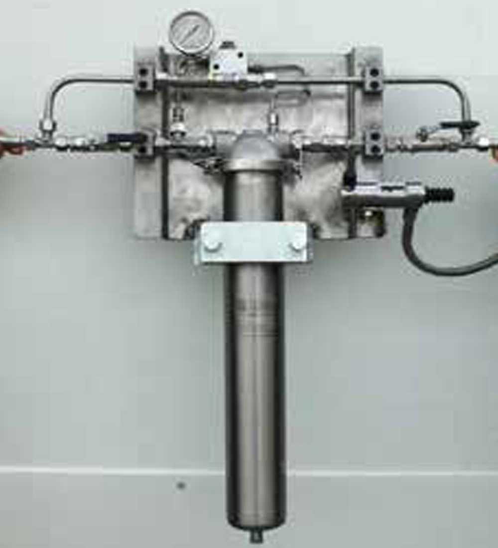 Filterenhet för mektätningar